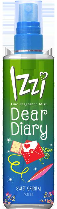 Fine Fragrance Mist Dear Diary