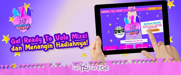 SIAP-SIAP-VOTE-IZZI-VIDEO-MUSIK-STAR-3-GIRLTUNES-WANTED-0