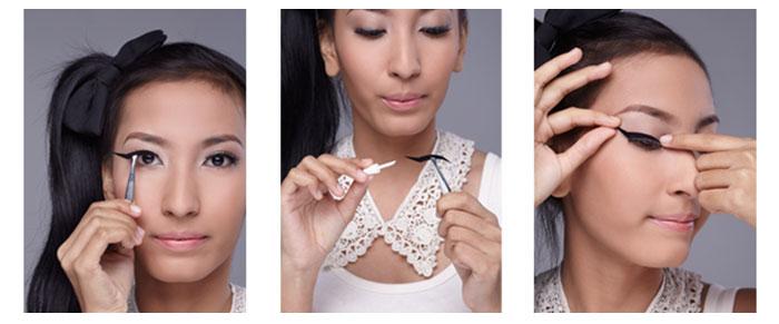 Langkah-Langkah Merias Mata dengan Eyeliner Sticker