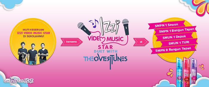 ROADSHOW IZZI VIDEO MUSIC STAR DI YOGYAKARTA!
