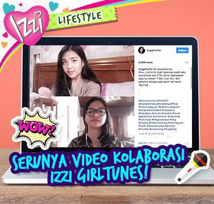 Kekompakan Pemenang IZZI Girltune di Instagram