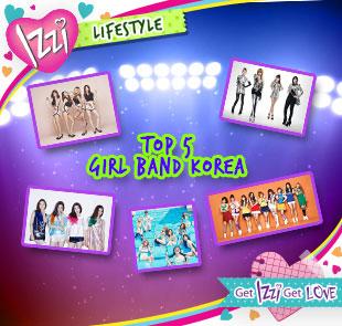 Top 5 Girl Band Korea