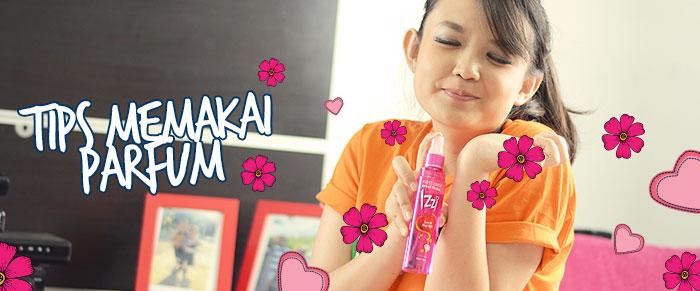Tips Memakai Parfum Untuk Ke Sekolah