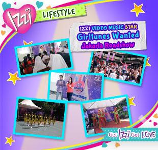 ROADSHOW IZZI VIDEO MUSIC STAR 3 DI JAKARTA!