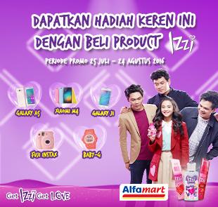 Promo Alfamart: Beli Product IZZI Dapatkan Berbagai Hadiah Keren!