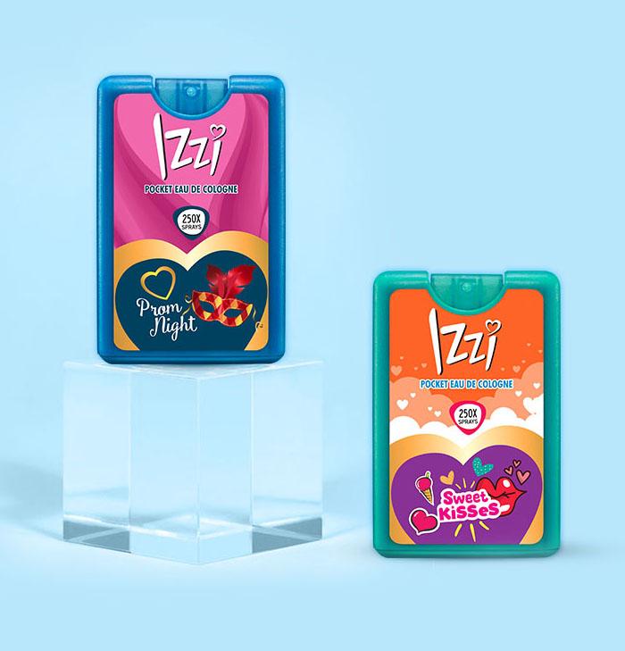 IZZI testimonial box